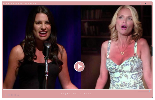 Video|Glee Season One | Maybe This Time by GleeEdition-Project