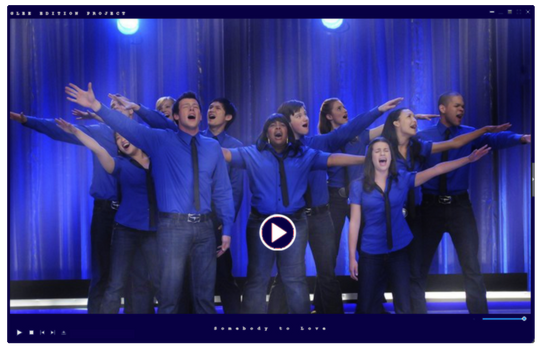 Video|Glee Season One | Somebody to Love by GleeEdition-Project
