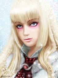 Tekken 6 - Lili portrait by fatalis-sacristia