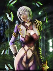 Soul Calibur V - Ivy fanart by fatalis-sacristia