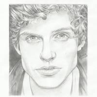 Daniel Sharman, Isaac Lahey on Teen Wolf. by LarisaBragina