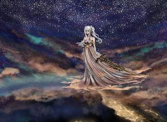 Moonlight Queen by AerinoMinami