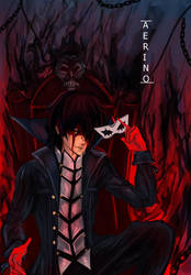 Persona- MC fanart by AerinoMinami
