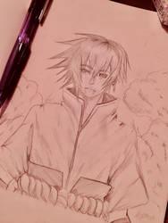 Sasuke uchiha by AerinoMinami