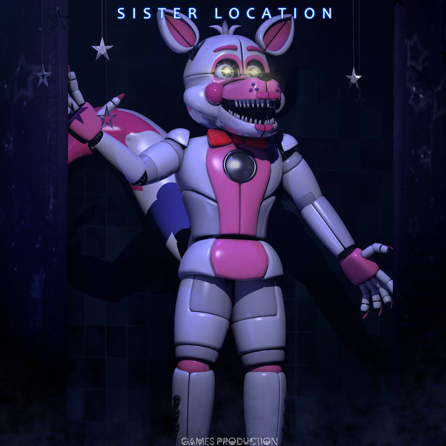 Funtime Foxy! By GamesProduction On DeviantArt