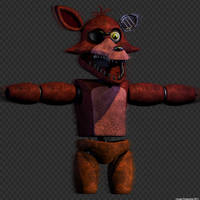 Withered Foxy WIP by GamesProduction