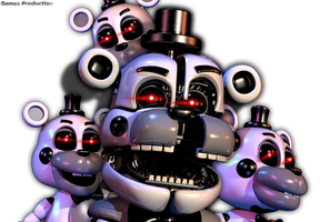 The Gray Ones - Test Render by GamesProduction
