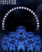 FNaF Sister Location- Bidybabs Poster by GamesProduction