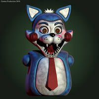 FNAC 4 - Candy the Cat WIP (Unofficial) by GamesProduction