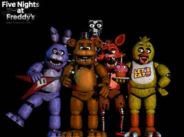 FNAF 1 - Pose for the Picture! by GamesProduction