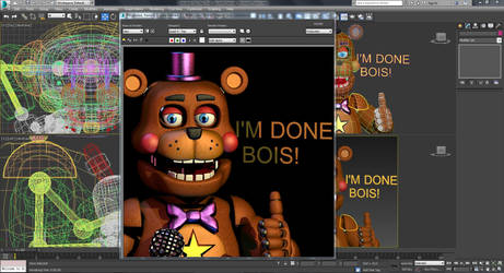 Rockstar Freddy -  WIP by GamesProduction