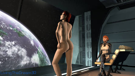 Femshep and Kelly by Crysis328