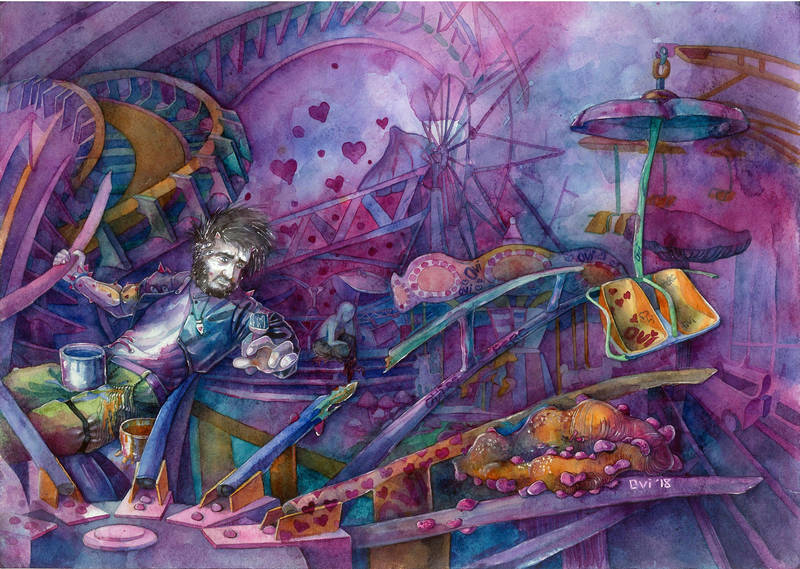 the owner of the amusement park by White-Zebrana