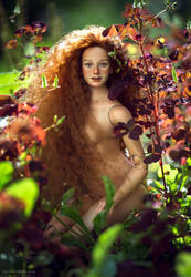2018 The new doll, nature photosession_03 by Kaa-Annaku