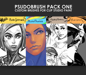 PsudoBrush Pack One by Psuede