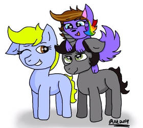 My Older Siblings by ArtisticAshGamer
