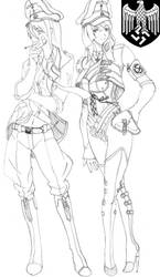 The Female Officers of the Waffen-SS by someone1fy