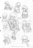Mako grow up sketch by idolnya