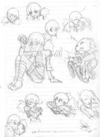 Ai grow up sketch by idolnya