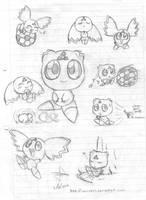 Calumon sketch by idolnya