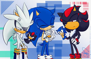 Sonic puppets by idolnya