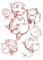Shadow doodle by idolnya