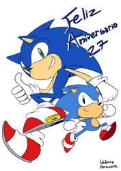 Feliz 27 aniversario by idolnya