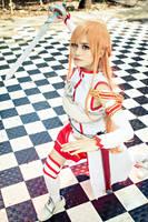 Sword Art Online - Asuna Yuuki by alainbrian