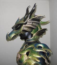 Dragon Head Helmet temp pic by Azmal