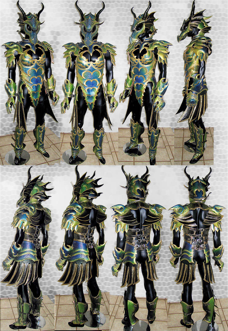 Female Dragon Armor - Compiled by Azmal