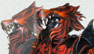 Lion Armor Helmet by Azmal