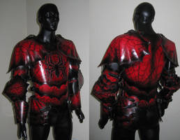 Spider Themed Drow Armor Pic2 by Azmal