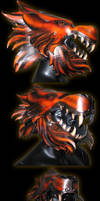 Lion Helmet and new jaw by Azmal