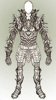 Another Armor Sketch by Azmal