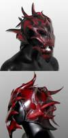 Demon Helm by Azmal