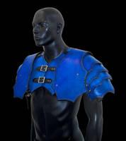 Shoulder Pauldron Harness by Azmal