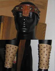 Conan Headband and Bracers by Azmal