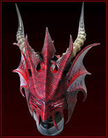 Fetish Dragon Helm by Azmal