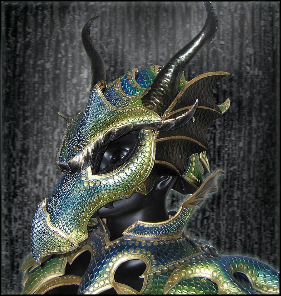 Female Dragon Helmet by Azmal