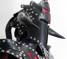 Knight's Templar Helmet by Azmal