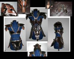 Female Foxy Armor by Azmal