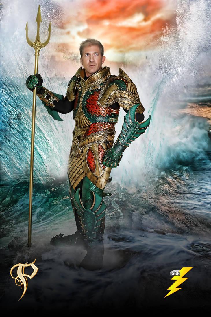 Medieval Aquaman Armor by Azmal