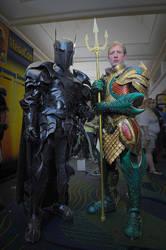 Medieval Superhero Duo by Azmal