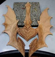 Flame Armor WIP by Azmal
