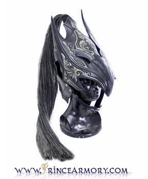 Leather Artorias Helmet Dark Souls by Azmal