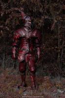 Flame Dragon Armor by Azmal