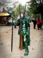 Medieval Loki by Azmal
