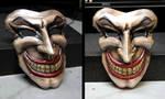 Medieval Joker WIP 3 Leather Mask by Azmal