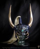 Warrior of Light Leather Helmet by Azmal