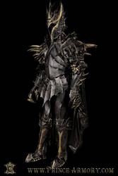 First Age Sauron Leather Armor by Azmal